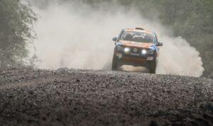 4x4 rally driving
